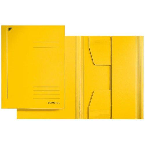 Leitz Jurismappe, A4, Primärkarton, gelb