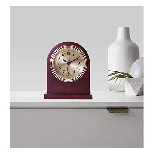 Clocks Alarm is Solid Wood Alarm Antique Bedside Small Alarm High-end Gift