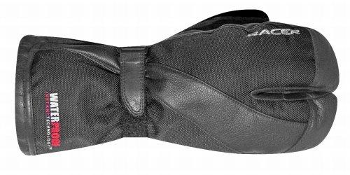 Racer Lobster Handschuh, Schwarz, Größe 3XL