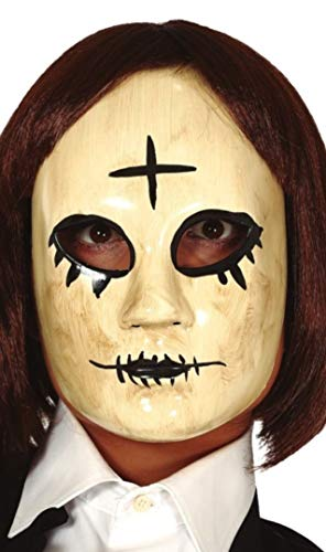 FIESTAS GUIRCA Mascara Mujer con Cruz PVC