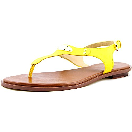 Michael Kors MK Sandalen, Tan Yellow, Größe: 7,5 M