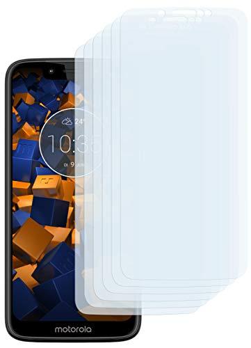 mumbi Schutzfolie kompatibel mit Motorola Moto G7 Play Folie klar, Bildschirmschutzfolie (6X)