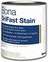 Bona DriFast Premium Quality Oil-Modified Quick Dry Stain The Natural Collection for Interior Hardwood Floor Birch, QT