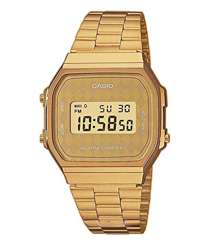 Casio Collection Unisex Retro Armbanduhr A168WG-9BWEF