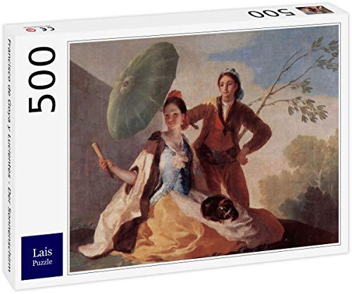 Lais Puzzle Francisco de Goya y Lucientes - Der Sonnenschirm 500 Teile