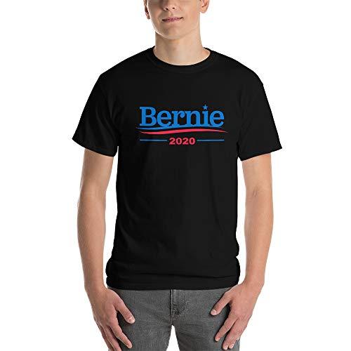 Bernie Sanders 2020 for President Men's Black Shirts (Small)
