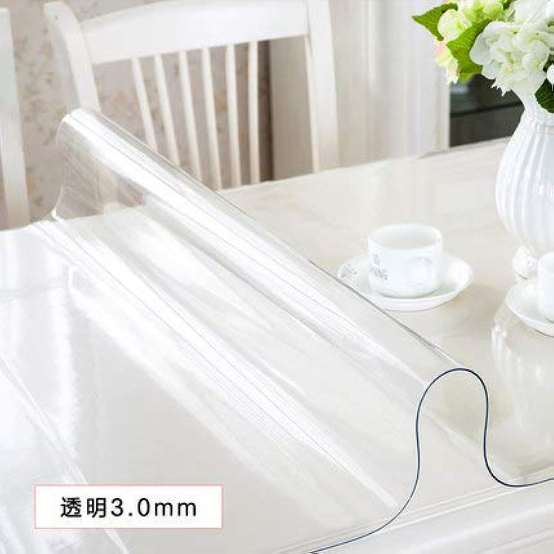 mas preferencial KJDFHKDAL - Mantel de PVC PVC PVC Transparente, Transparent 3.0, 60  120  ¡no ser extrañado!