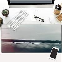 マウスパッド雨の風景拡張ゲームエクストララージ防水マウスマット、滑り止めベース、PCコンピュータラップトップ700X300Mm