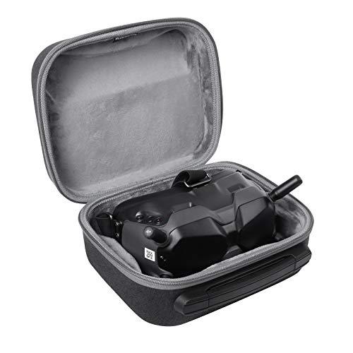 AIWOKE Tragbar Harte Schale Carrying Case Tragetasche für DJI FPV Goggles V2 Tasche Zubehör,FPV Goggles Drohne Koffer Aufbewahrungstasche Reise Schutz