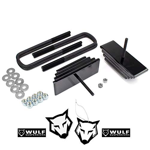 WULF 2.8' Front Adj Leveling Lift Kit compatible with 1999-2004 Ford F250 F350...