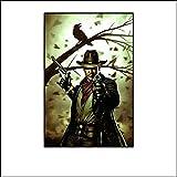 Posters Der dunkle Turm Revolverheld Stephen King Leinwand