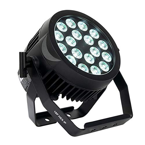 Buy Bargain American DJ ADJ 18P IP, 18x12W, 6 in 1 HEX LEDs with Wired Digital Communication Network...