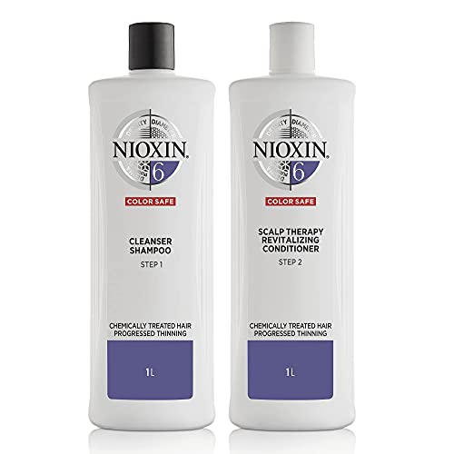 Nioxin System 6 for Chemically Treated Hair with...