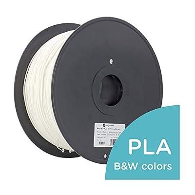 Polymaker PolyLite PLA 3D Printer Filament White 1.75mm 3 kg 3D Printing Filament