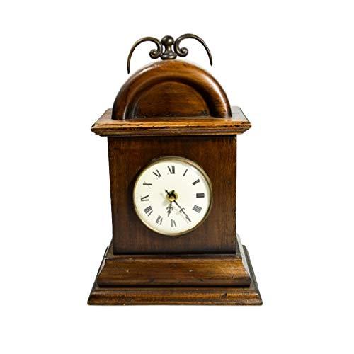 Capanni Orologio Handcrafted in Legno Artigianale Table Vintage Clock 2086