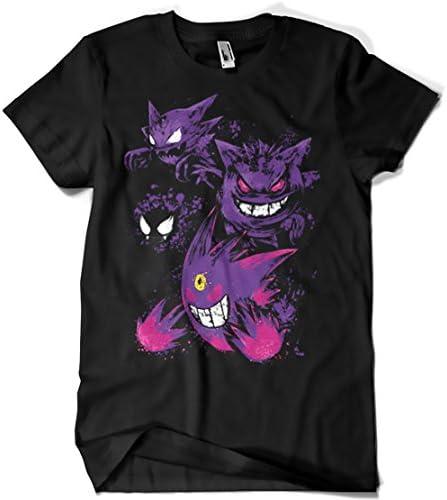 3418-Camiseta Premium, Pokemon - Ghost Evolución (Dr.Monekers)
