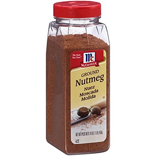 McCormick Ground Nutmeg, 16 oz