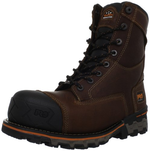 Timberland PRO Men's Boondock WP-M Industrial Work Boot, Brown, 7
