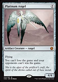 Magic: the Gathering - Platinum Angel (214/221) - Conspiracy 2: Take the Crown