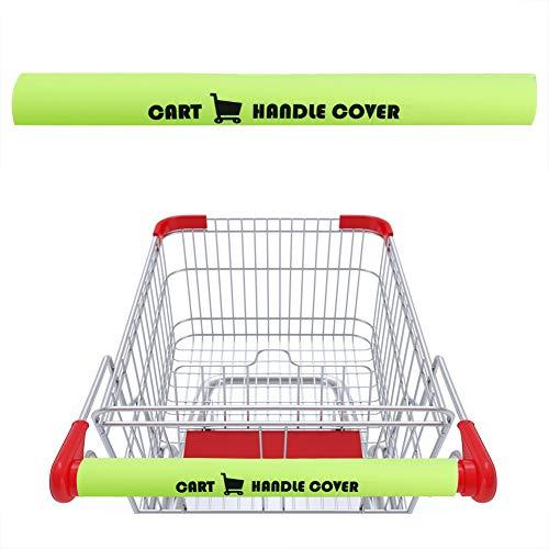 XHONG Einkaufswagen-Griffabdeckung, 2 Stück, Abdeckung für Einkaufswagen und Buggy-Griffe, 43,2 cm