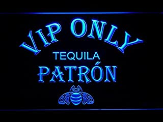 VIP Only Patron Tequila LED Neon Sign Man Cave 474-B