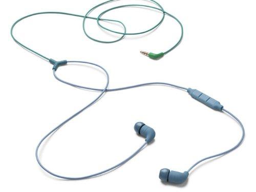 AIAIAI - In-Ear Kopfhörer mit Mikrofon, Ergonomisches Headset mit hervorragendem Sound, Ultra-leichte Ohrhöhrer, Integrierte Lautstärkenregelung, Anrufannahme & Musiksteuerung, Klinke - Petrol