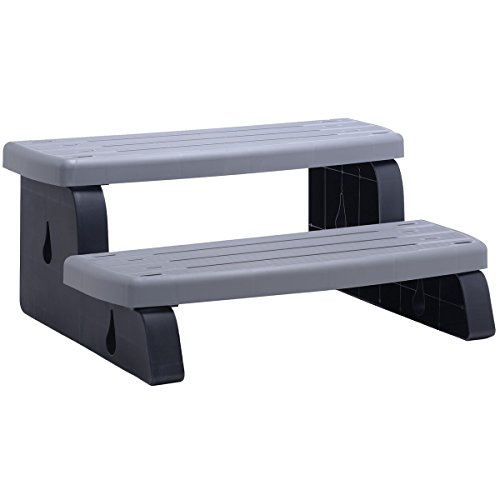Waterway Plastics Waterway 535-2209-CSG SPA Step Coastal Gray
