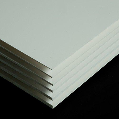 PVC Espumado Plancha Medidas 200cm x 100cm Grueso 5mm Color blanco