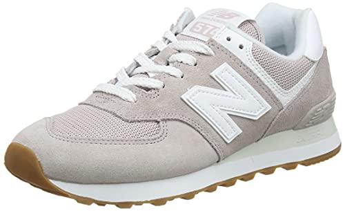 New Balance 574 Pastel Pack, Zapatillas Mujer, Logwood, 39 EU