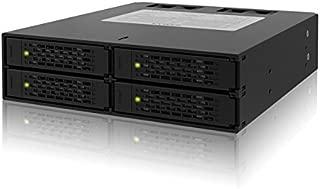 Cremax 4 x 2.5インチSATA&SAS HDD/SSD搭載用モジュールケース 5インチベイサイズ対応 CS5025 MB994SP-4S