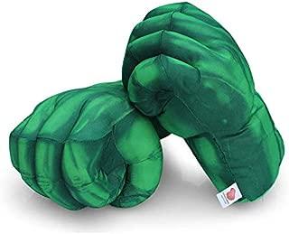 Auch Super Hero Gloves Smash Soft Plush Fists Pairs Costume