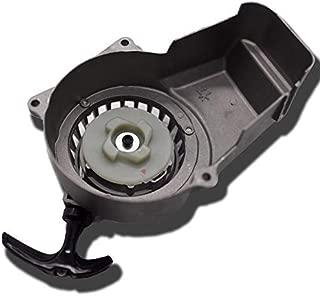 Sibaken Pull Start Recoil Starter for 2 Stroke Engine 47cc 49cc Pocket Bike Mini ATV Dirt Bike (silver)
