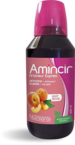 Nutrisanté Amincir Draineur Express Goût Pêche 500 ml