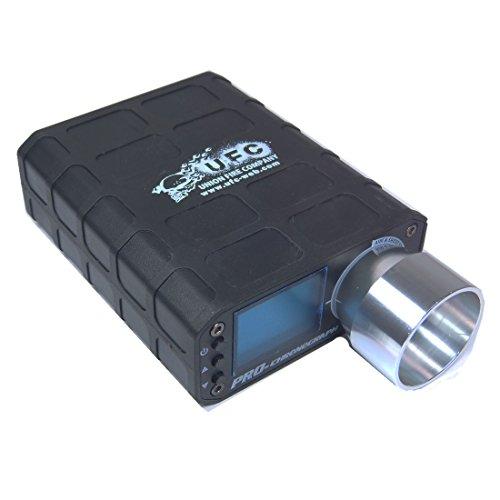 UFC Pro Chronograph, für 0.01mm - 9.99mm Geschossdurchmesser, misst Feuerrate & Energie - schwarz