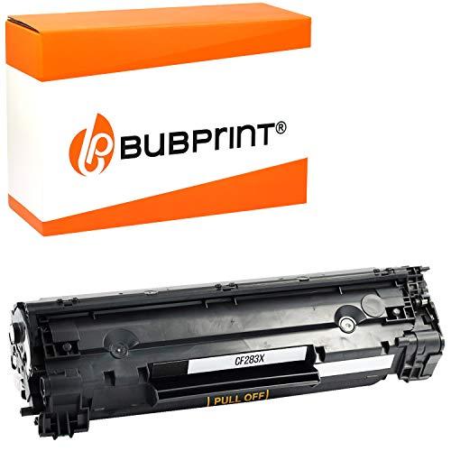 Bubprint Toner kompatibel für HP CF283X 83X für Laserjet Pro MFP M125A M125NW M126A M127FN M127FW M128FN M201DW M225DN M225DW M226DN M226DW Schwarz