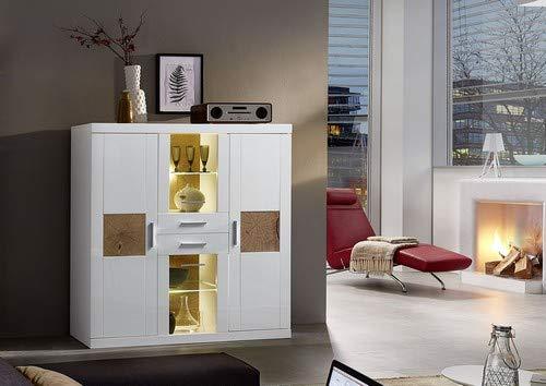 Stella Trading Primus Schreibtisch Sonoma 110 x 75 x 65 cm Holzdekor ca