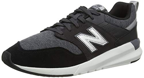 New Balance Męskie 009 Ms009hc1 Medium Sneaker, czarny - Black Black Hc1-43 EU