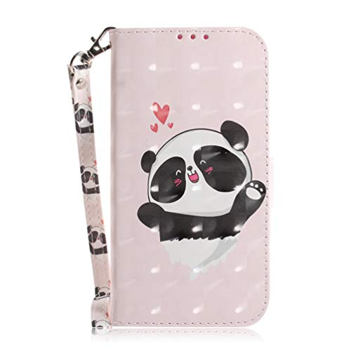 for Nokia 3.4 Wallet Case, 3D Painted Shock-Absorption Flip Case Stand PU Leather Wallet Phone Cases Card Slots Magnetic Silicone Bumper Stand function Shockproof Cover for Nokia 3.4 Love bear