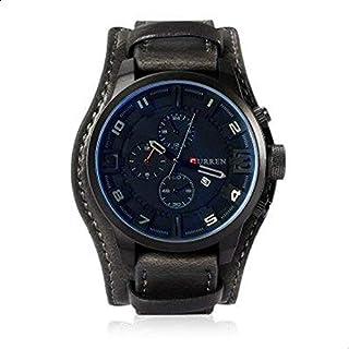 Curren Men's Analog Leather Watch 8225