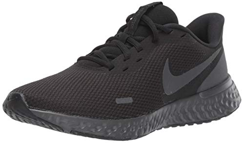 Nike Women's Revolution 5 Running Shoe, Black/Anthracite, 7.5 Regular US