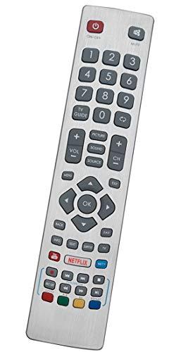 ALLIMITY DH-1710 Fernbedienung Ersatz für Sharp Aquos TV LC-32FI5342E LC-32FI5442E LC-32HI5232E LC-32HI5432E LC-40FI5242E LC-40FI5442E LC-49FI5242E LC-49FI5542E LC-32FI5242E
