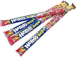 Wonka Rainbow Nerds Rope レインボーナーズロープキャンディ 26gx4袋(箱なし)