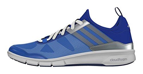 adidas Damen Niya Cloudfoam Sneaker, Blau, 36 EU