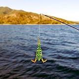 Topwater Lures Superficie del Agua Simulación Artificial Pato Señuelo De Pesca Cebo De Superficie con Hélice para Bagre Weever, 12 Cm / 4,7 Pulgadas