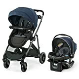Graco Modes Element LX Travel System   Includes Baby Stroller with Reversible Seat, Extra Storage, Child Tray, One Hand Fold and SnugRide 35 Lite LX Infant Car Seat, Lanier from AmazonUs/GRAR9