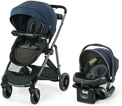Graco Modes Element LX Travel System Includes Baby Stroller with Reversible Seat Extra Storage product image