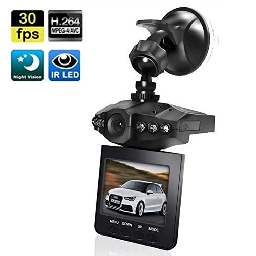 """Dash Cam, Car Dashboard Camera Recorder with 2.5"""" Wide View Angle LED Night Mode Dash Camera Dashboard Recorder Loop Recording"""