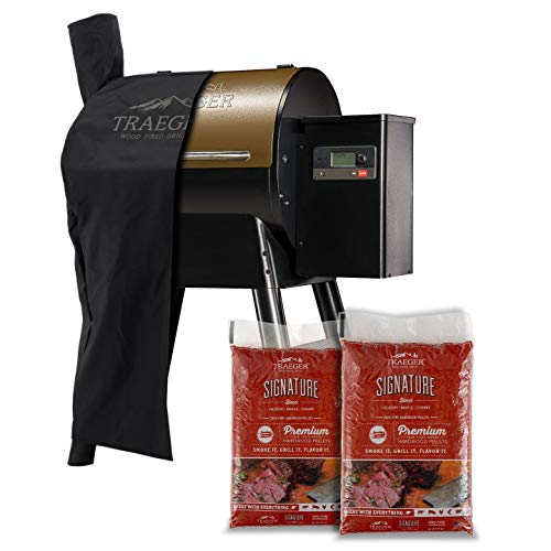 Traeger Grills Pro Series 575 Wood Pellet Grill and Smoker with Alexa and WiFIRE Smart Home Technology - Bronze