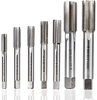 Thread Diameter : M2 SHENYUAN 1pc Right Hand Thread Tap HSS Machine Plug Tap Metric Screw Tap Drill Thread Tool M2 M2.5 M3 M4 M5 M6 M7 M8 M10 M12 M14 M15