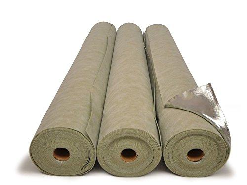 Materassino Sottopavimento ISOLMANT ISOLDRUM TOP Isolmant 2 mm ad alta densità accoppiati sul lato superiore con un film alluminato